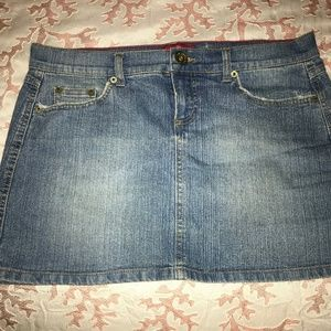 Mini Denim Skirt Jr Sz 13